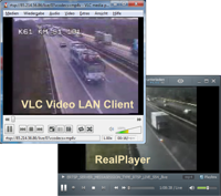 Traffic live from Hamburg highway - bitcontrol® Multimedia Suite